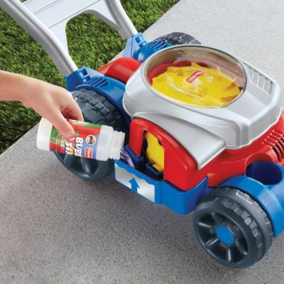 Fisher Price Bubble Mower In Redblue Bed Bath Beyond