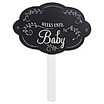 "Grasslands Road® ""Weeks Until Baby"" Plaque in Black"