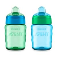 AVENT 2-Pack 9 oz. My Easy Sippy Cup in Blue/Green
