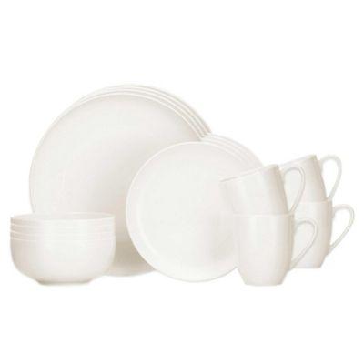 Lenox® Largo 16-Piece Dinnerware Set in White  sc 1 st  Bed Bath u0026 Beyond & Buy Lenox Everyday Dinnerware from Bed Bath u0026 Beyond