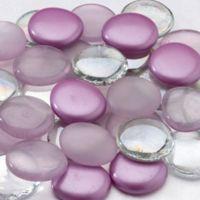 Lillian Rose™ Glass Signing Stones in Plum