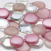 Lillian Rose™ Glass Signing Stones in Pink
