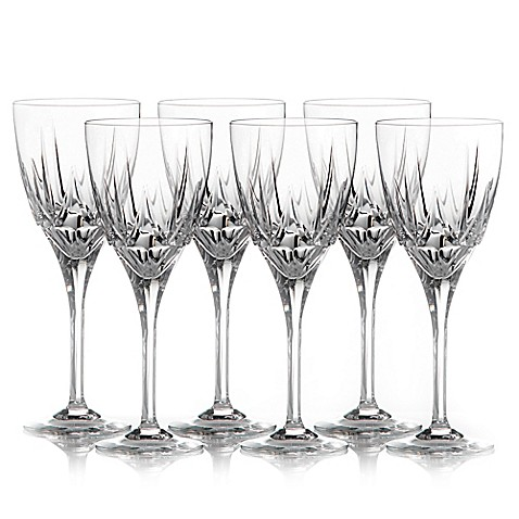 Royal doulton belvedere wine glasses by waterford set of 6 bed bath beyond - Waterford colored wine glasses ...