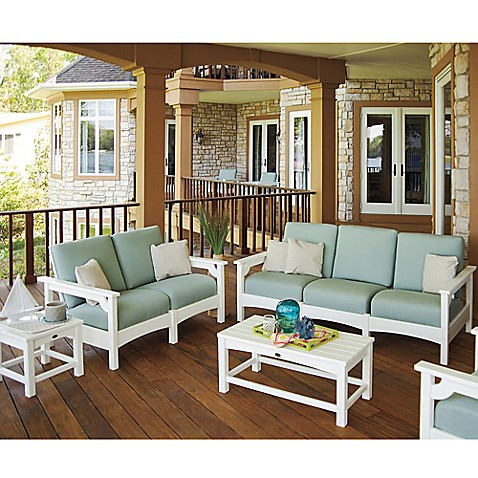 polywood club patio furniture collection bed bath beyond