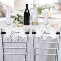 Lillian Rose™ Bride and Groom Chair Signs
