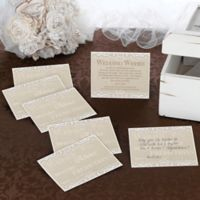 Lillian Rose™ Country Lace Guest Cards (Set of 48)