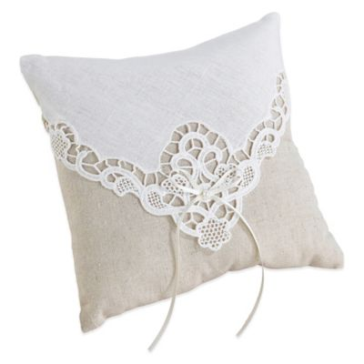 Buy Wedding Ring Pillows from Bed Bath Beyond