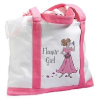 Lillian Rose™ Flower Girl Nylon Tote