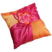 Lillian Rose™ Ring Pillow in Hot Pink/Orange