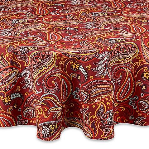 Fiesta 174 Paisley Tablecloth Bed Bath Amp Beyond