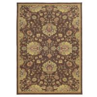 Tommy Bahama® Cabana Collection Traditional Brown 1-Foot 10-Inch x 3-Foot 3-Inch Rug