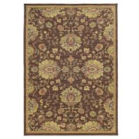 Tommy Bahama® Cabana Collection Traditional Brown 1-Foot 10-Inch x 7-Foot 6-Inch Rug