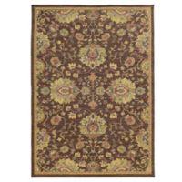 Tommy Bahama® Cabana Collection Traditional Brown 5-Foot 3-Inch x 7-Foot 6-Inch Rug