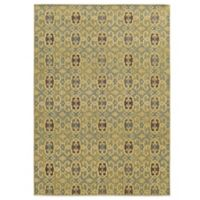 Tommy Bahama® Cabana Collection Geometric Green 6-Foot 7-Inch x 9-foot 6-Inch Rug