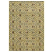 Tommy Bahama® Cabana Collection Geometric Green 7-Foot 10-Inch x 10-Foot 10-Inch Rug