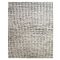 Feizy Chevron 3-Foot Rug 6-Inch x 5-Foot 6-Inch Rug in Dark Blue/Grey