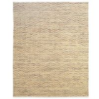 Feizy Chevron 8-Foot x 11-Foot Rug in Green
