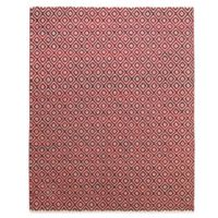Feizy Diamond 2-Foot x 3-Foot Rug in Red
