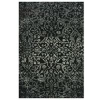 Feizy Beloha 5-Foot x 8-Foot Rug in Black/White