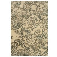 Feizy Beloha 5-Foot x 8-Foot Rug in Ivory/Grey