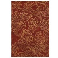 Feizy Beloha 5-Foot x 8-Foot Rug Red/Multi