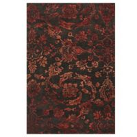 Feizy Beloha 8-Foot x 11-Foot Rug Chocolate/Red