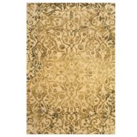 Feizy Beloha 8-Foot x 11-Foot Rug in Ivory/Gold
