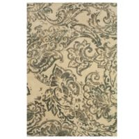 Feizy Beloha 8-Foot x 11-Foot Rug in Ivory/Grey