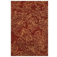 Feizy Beloha 8-Foot x 11-Foot Rug in Red/Multi