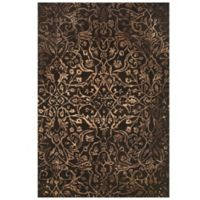Feizy Beloha 9-Foot 6-Inch x 13-Foot 6-Inch Rug Brown/Light Brown