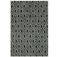 Feizy Diamonds 5-Foot x 8-Foot Rug in Grey/Black