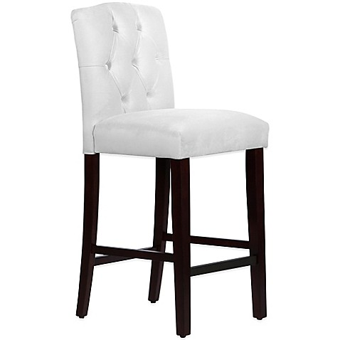 Buy Skyline Furniture Denise Tufted Arched Barstool In
