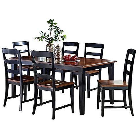 Hillsdale Avalon Dining Set In Black/Cherry