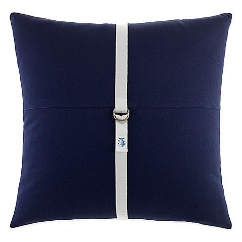 Southern Tide Starboard Square Throw Pillow in Navy - Bed Bath & Beyond