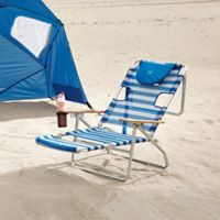 Buy 5 Position Backpack Beach Chair From Bed Bath Amp Beyond