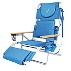 Ostrich 3-in-1 Deluxe Beach Chair in Blue