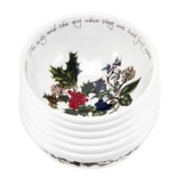 Portmeirion® Holly & Ivy Fruit Bowl (Set of 6)
