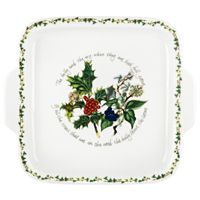 Portmeirion® Holly & Ivy Handled Cake Plate