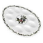 Portmeirion® Holly & Ivy Deviled Egg Dish