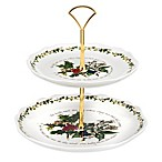Portmeirion® Holly & Ivy 2-Tier Cake Stand