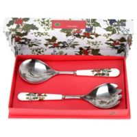 Portmeirion® Holly & Ivy Salad Servers
