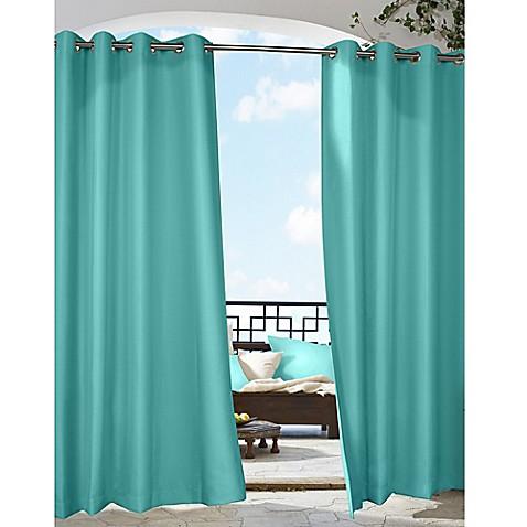 Gazebo Grommet Top Indoor Outdoor Window Curtain Panel