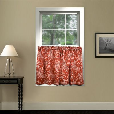 Buy Red Kitchen Curtains Valances from Bed Bath & Beyond