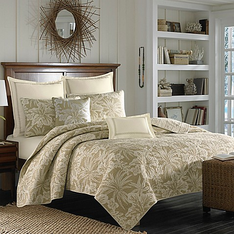 Tommy bahama hanalie hibiscus quilt in neutral bed bath beyond tommy bahama hanalie hibiscus quilt in neutral gumiabroncs Gallery