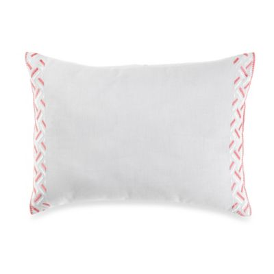 wedgwood wild strawberry geo breakfast throw pillow