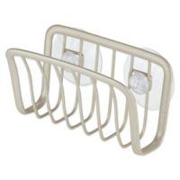 InterDesign® Axis Suction Sponge Cradle in Satin Nickel