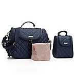 Storksak® Poppy Convertible Backpack in Navy