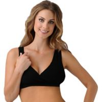 Belly Bandit® Size Medium B.D.A. Nursing Bra in Black