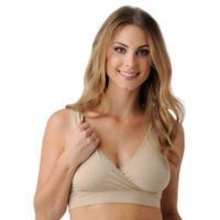 Belly Bandit® Size Medium B.D.A. Nursing Bra in Nude