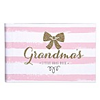 "Carter's® Sweet Sparkle ""Grandma's Little Brag Book"" in Pink/White"